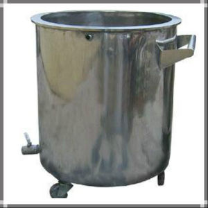 Movable Stainless Steel Storage Tank with Wheels pictures & photos
