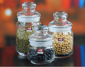 Glass Mason Jar and Glass Jar with Lid Different Capacity pictures & photos