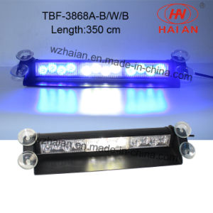 14′′ Multicolor LED Flash Interior Indicate Windshield Light (TBF-3868A-B/W/B) pictures & photos