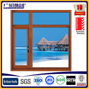 Aluminum Casement Window with Fly Screen (SY95) pictures & photos