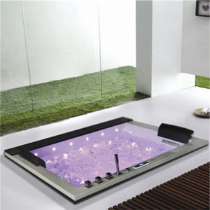Most Por Two Person Square Acrylic Spa Jacuzzi Bathtub