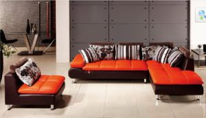 Modern Sectional Leather Sofa Jfc-11