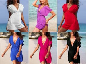 2016 Wholesale Fashion Ladies Kaftan with Swimwear (XY125) pictures & photos