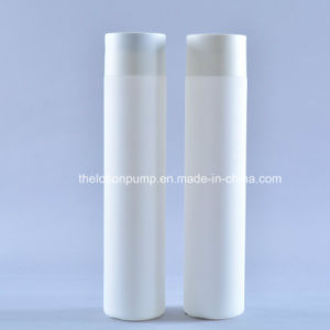 New Design 10oz 300ml Soft Touch Cylindrical HDPE Shampoo Bottle
