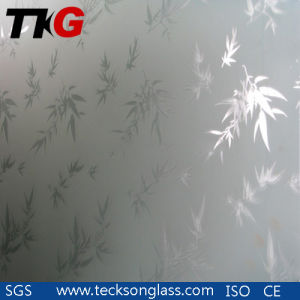 3-12mm Acid Etched Glass for Show Room pictures & photos