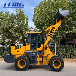 China Cast Loaders Ltmg Quicke Loader 1 5ton 2ton Mini Front End Loader With Cum Mins Engine China Front End Loader Quicke Loader