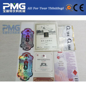 Factory Price Adhesive Label for Glass Bottled Wine pictures & photos