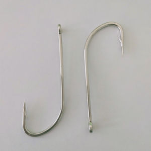 Details about  /#4 O/'Shaughnessy Forged Long Shank Live Bait Hooks High Carbon Steel Jigging