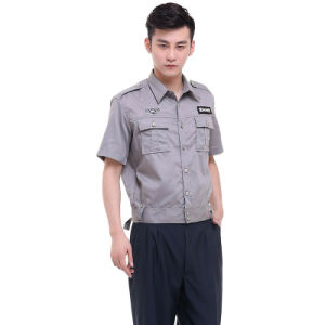 Blend of 35%Cotton and 65%Polyester Security Guard Shirt-Pants Uniform pictures & photos