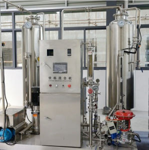 Beverage Mixer Is Applied for Carbonation and Proportion Mixing of Various Gas Beverages