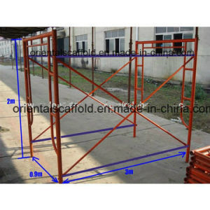 Building Painted H Scaffolding Frame pictures & photos