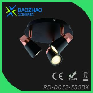 Plating Copper GU10 LED Spot Light pictures & photos