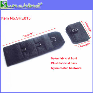 19mm Single Underwear Hook and Eye in Black pictures & photos
