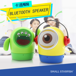 Cute Doll, Small Yellow Man, Wireless Bluetooth Mini Speaker