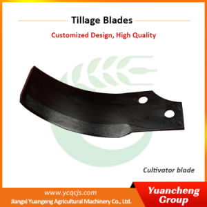 High Quality Power Tiller Plough Cultivation Rotavator Blades