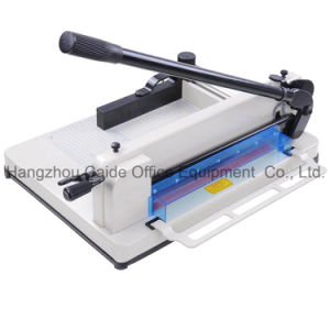 Manual Paper Cutting Machine Guillotine Paper Cutter Wd-858A3 pictures & photos