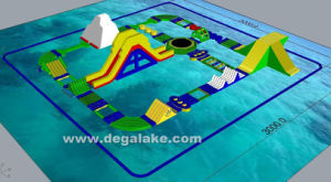 Inflatable Water Toys Water Game Inflatable Water Park Customized