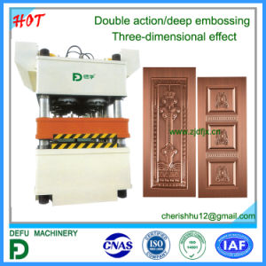 Double Action Deep Embossing Hydraulic Press Machine pictures & photos