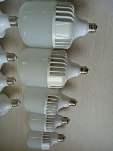 20W 30W 40W E27 B22 Aluminum T Model LED Lamp Bulb pictures & photos