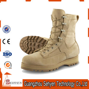 China Carmy British Army Beige Military Desert Boots - China Boots ... dc302d780