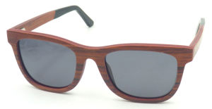 Fqwa162596 Hotsale Classical Wooden Sunglasses Rose Wood Frame pictures & photos