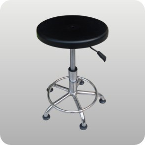 Anti - Static Plastic Lift Round Stool pictures & photos