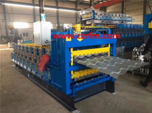 Three Layer Building Material Roofing Sheet Roll Forming Machine pictures & photos
