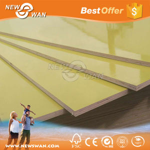 PVC Coated Plywood / Plastic Formwork Plywood (12mm, 15mm, 18mm) pictures & photos