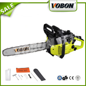 38cc Gasoline Chainsaw for Wood Cutting (VCS3800-3) pictures & photos
