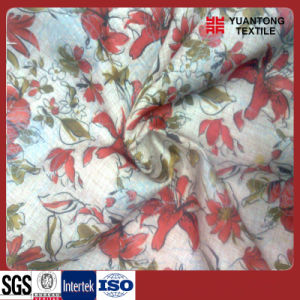 Big Flower Pattern Polyester/Cotton Printed Fabric pictures & photos