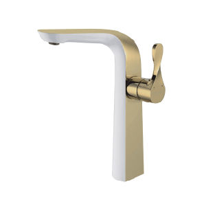 New Design Antique Brass Basin Mixer & Faucet (ZF-285) pictures & photos