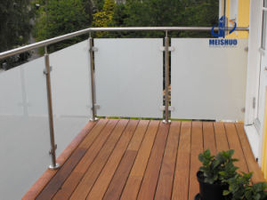 Outdoor Decking Glass Balustrade and Handrails pictures & photos
