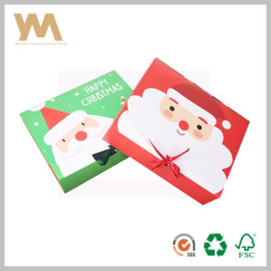 Christmas Gift Packing Box with Ribbon pictures & photos