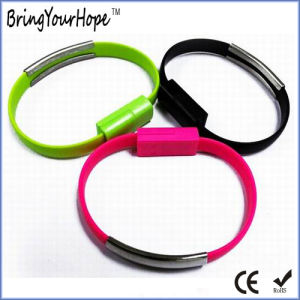 Micro USB Data Charging Cable Bracelet pictures & photos