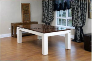 2 in 1 Dinner Solid Wood Pool Table pictures & photos