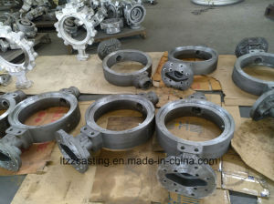 Butterfly Valve Sand Casting Machinery Parts pictures & photos