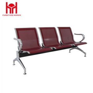 Airport Waiting Metal Chair Used Hospital Waiting Room Public Waiting Three Seats pictures & photos
