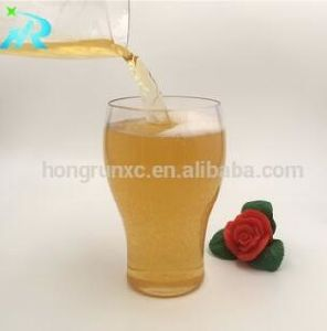 Imitation Glass Pet Plastic Beer Mug 350ml