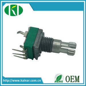 9mm Rotary Potentiometer with Bracket 5k 10k 20k 50k Wh9011ak-1j pictures & photos