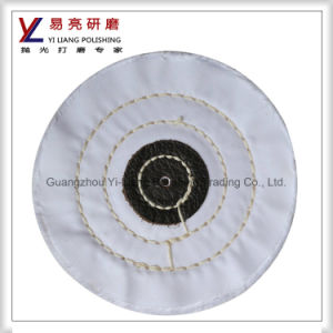 White Cotton Polishing Buffing Wheel for Watch Case and Hardwares Abrasive