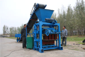 Manual Concrete Hollow Blcok Machine Cemment Brick Making Machine Price  pictures & photos