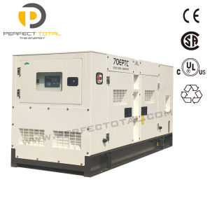 Low Oil Consumption Diesel Generator Set Powered by Cummins Engine From 20kw to 100kw