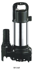 High Quality Plastic Stainless Steel Submersible Pump (VP750F) pictures & photos