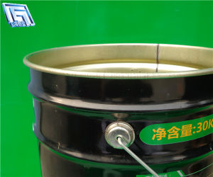 25L Metal Bucket for Industrial Chemical Use, Oil and Paint Packing