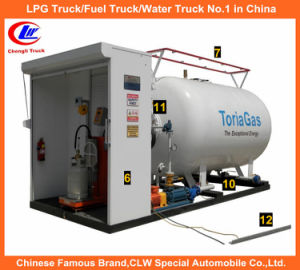 Lp Gas Storage 5tone for 10m3 LPG Cylinder Filling Station pictures & photos