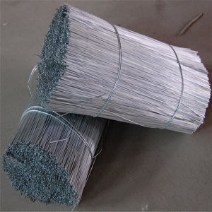 Galvanized/Black Annealed Iron Cut Straight Tie Wire pictures & photos
