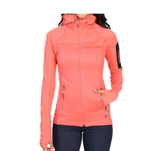 Wholesale Women Dri Fit Gym Wear Gym Jacket with Custom Logo pictures & photos