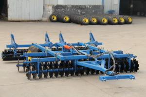 Seedbed Preparation Machine Combined Disc Harrow with Grader, Roller Packing pictures & photos