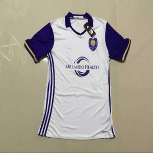 2016-2017 Orlando City Sc White Soccer Jersey pictures & photos