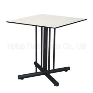 Commercial White Compact Phenolic Resin Cafe Table (SP-RT484) pictures & photos